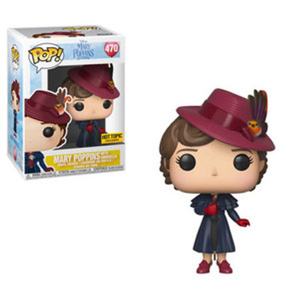 Funko POP! Mary Poppins - Mary Poppins with Umbrella SE Exclusive(470)