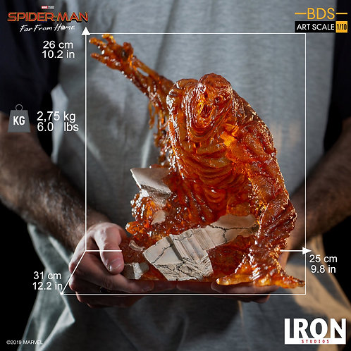 Iron Studios Spider-Man Far From Home - Molten Man 1/10 scale