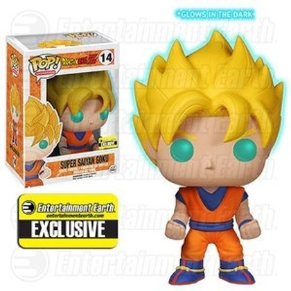 Funko POP! DBZ - Super Saiyan Goku GITD SE Exclusive  (14)