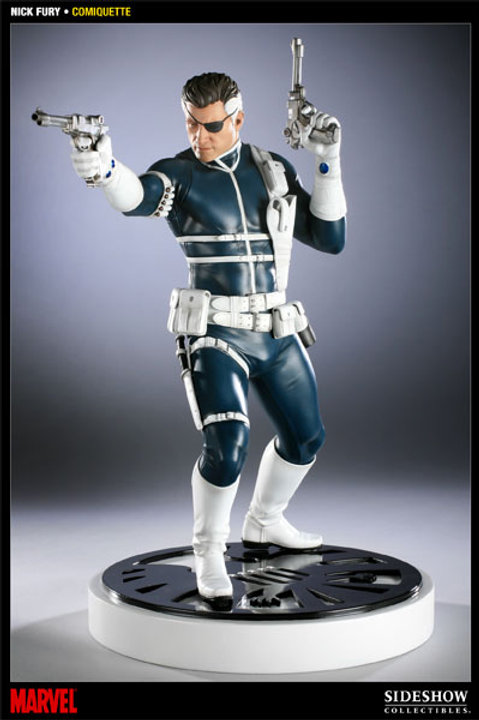 Sideshow Collectibles Marvel Nick Fury Comiquette