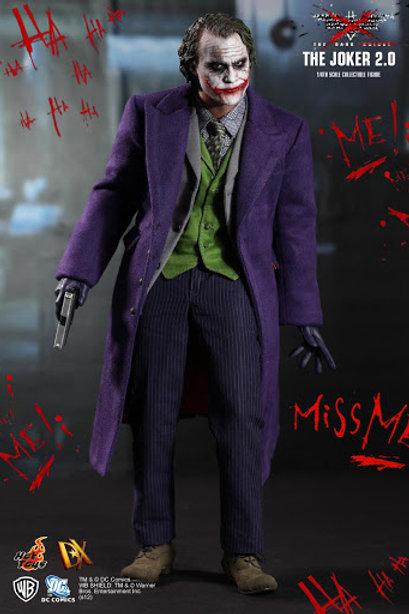 Hot Toys Batman the Dark Knight - Joker 2.0 DX 11 with brown box