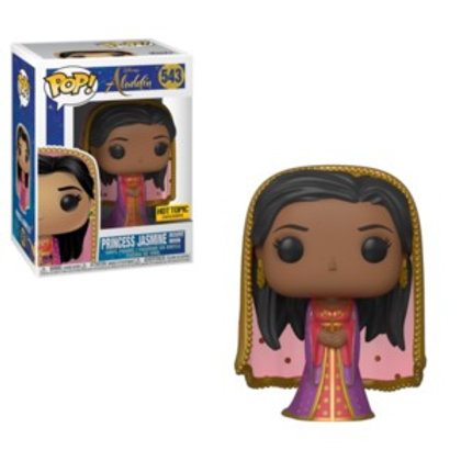 Funko POP! Aladdin - Princess Jasmine Desert Moon Hot Topic Exclusive (543)