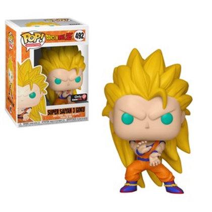 Funko POP! DBZ- Super Saiyan 3 Goku SE Ex (492)