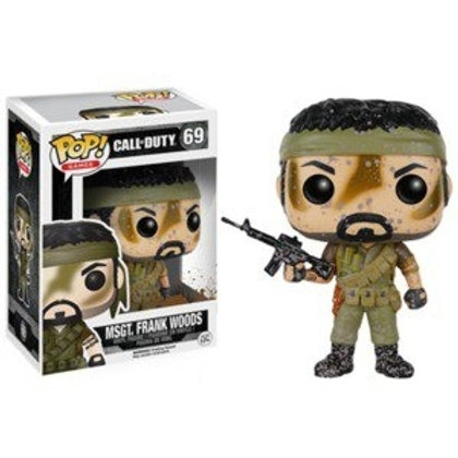 Funko POP! Call of Duty - MSGT. Frank Woods Muddy EB Exclusive  (69)