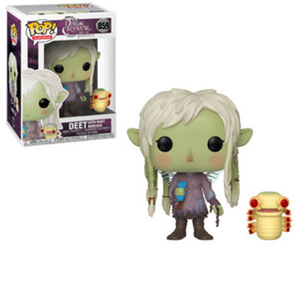 Funko POP! Dark Crystal - Deet with Baby Nurlock (859)