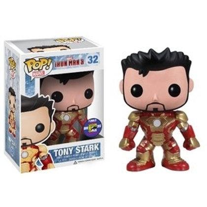 Funko POP! Iron Man 3 - Tony Stark Toy Con Sticker (32)