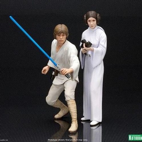 Kotobukiya Artfx Star Wars - Luke and Leia