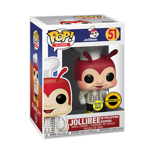 Funko POP! Jollibee in Philippine  Barong GITD Exclusive (51)