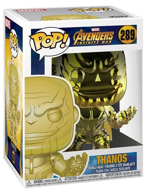 Funko POP! Avengers: Infinity War Thanos Yellow Chrome (289)