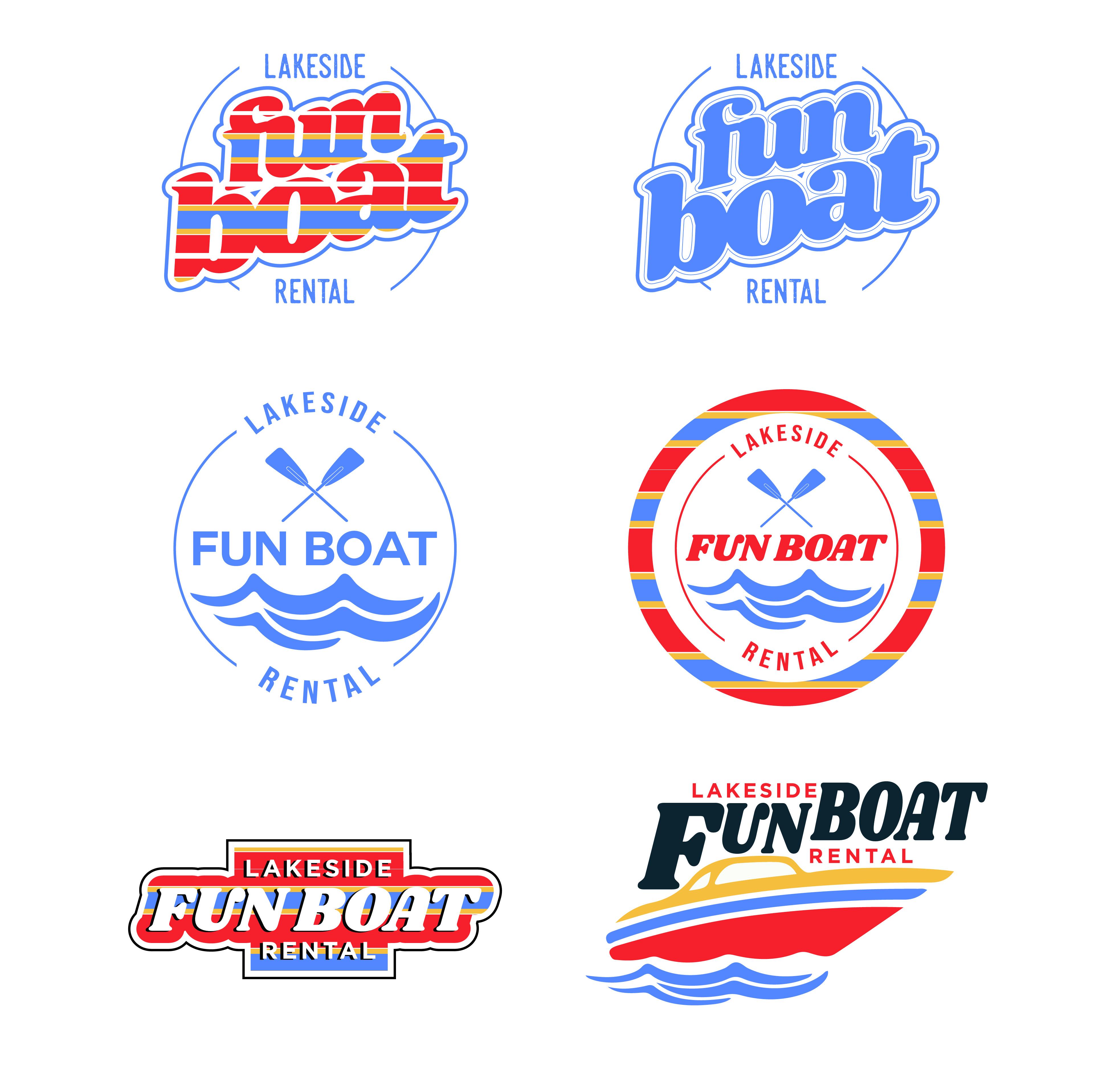 Fun Boat Logo Exploration