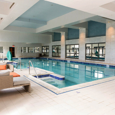 Four Seasons Hotel Swimming Pool Atlanta