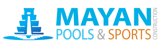 Mayan Pools & Sports Construction Logo