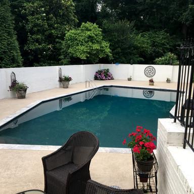 Pool and pool deck resurfacing