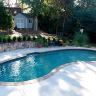Complete pool remodel