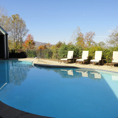 Brasstown Resort pool