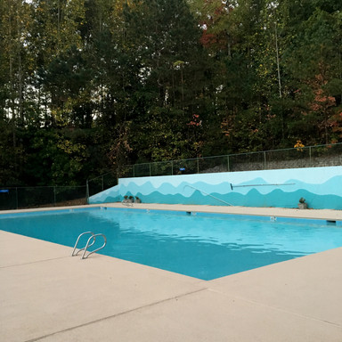 HOA swimming pool and deck resurfacing