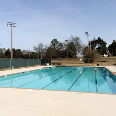 Camp swimming pool
