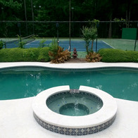 Pool and spa remodel