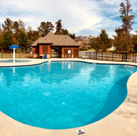 Commercial swimming pool renovation in Alpharetta Georgia.