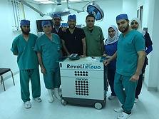 workshop at Minia University Hospitals,