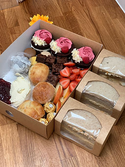 Afternoon tea for 3