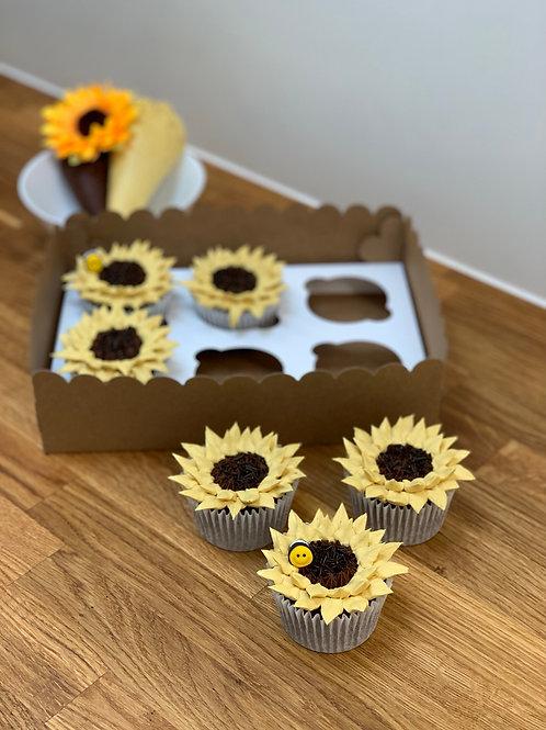 6x cupcakes (no filling)