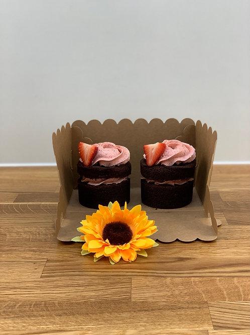 Box of 2 minicakes