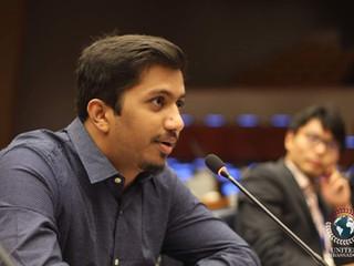 Success Story from Pakistan-UN4MUN Workshop New York 2017- Shuja Ul Haq