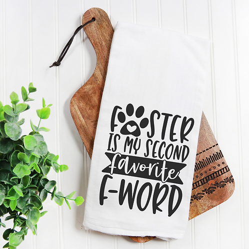 Foster F-Word Flour Sack Towel