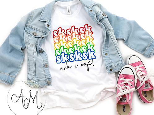 Sk Sk Sk VSCO Girl T-Shirt