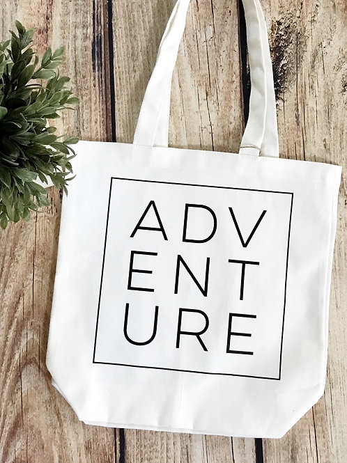 Canvas Tote - Adventure