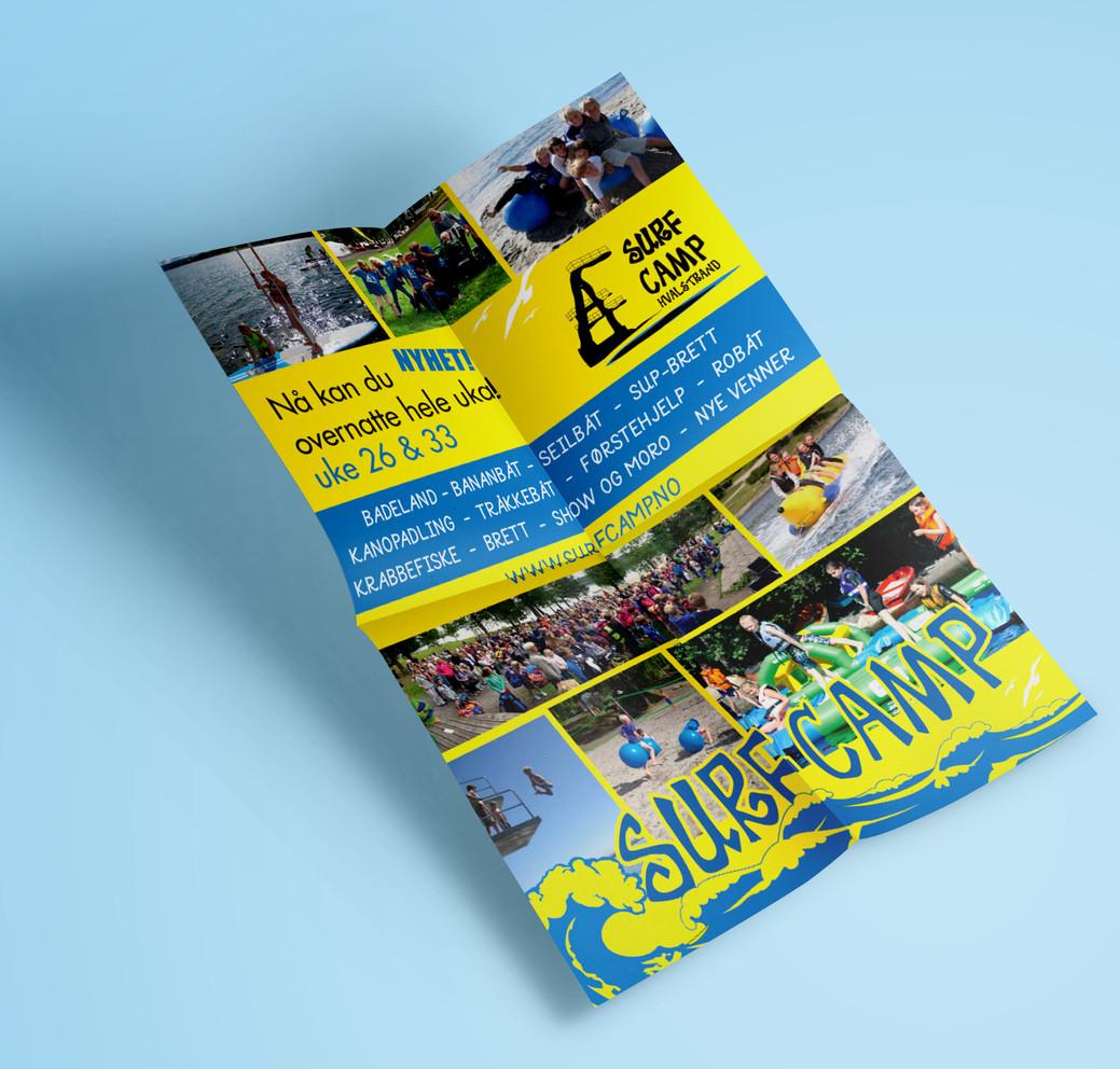 SurfCamp flyer