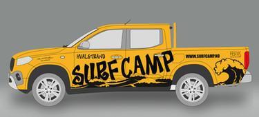 SurfCamp - Mercedes Xclass