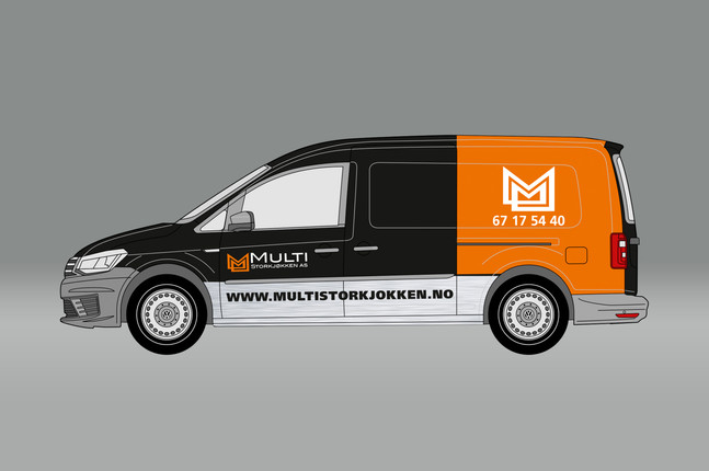 MultiStorkjøkken - flåtedekor