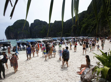 Thailand keeping 'The Beach' of movie fame closed for rehab