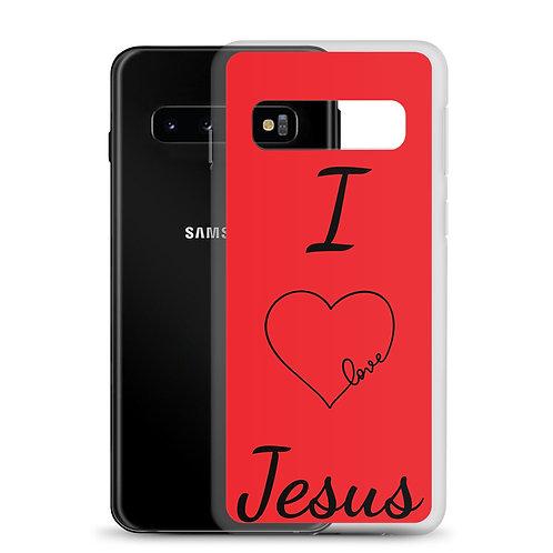 I love Jesus Samsung Case