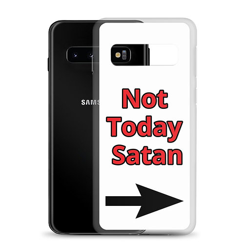 Not today Satan Samsung Case