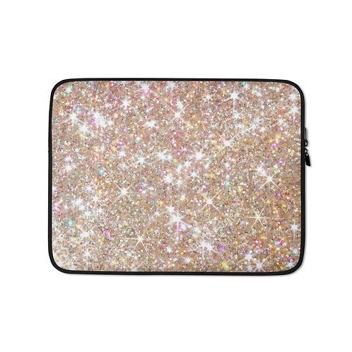 Glitter World Laptop Sleeve