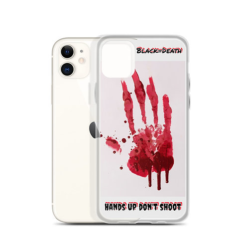 bloody hand iPhone Case