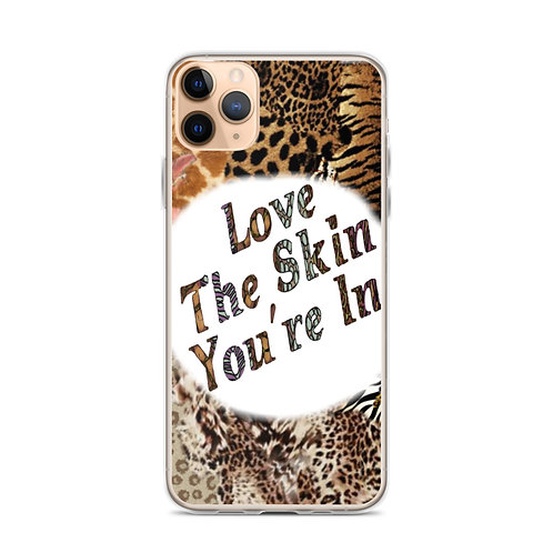 The Skin You're In iPhone Case