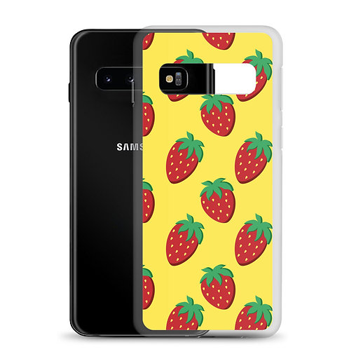 More Strawberries Samsung Case
