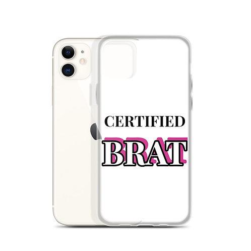 Certified Brat iPhone Case