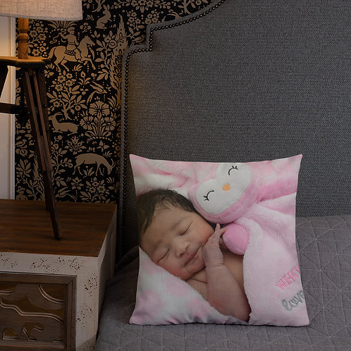 Custom All-Over Print Premium Pillow