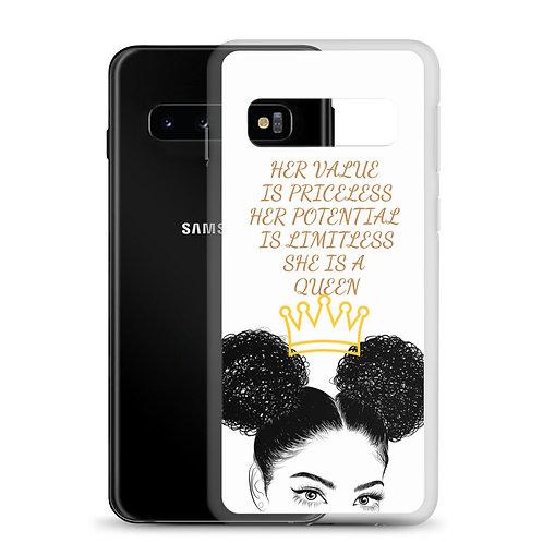 Puff Queen Samsung Case