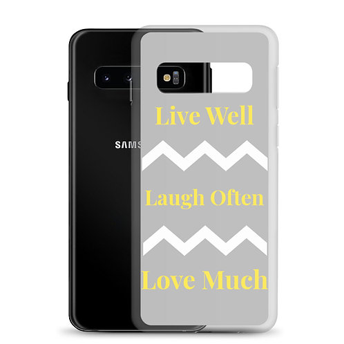 Live Laugh Love Samsung Case