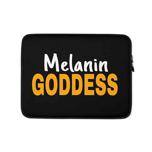 Melanin Goddess Laptop Sleeve