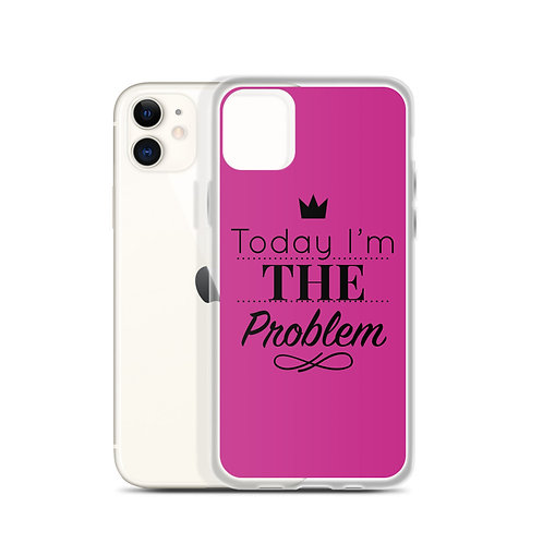 THE Problem iPhone Case