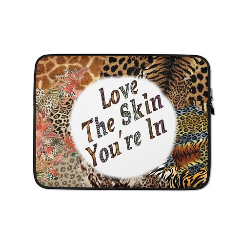 The Skin You're In Laptop Sleeve