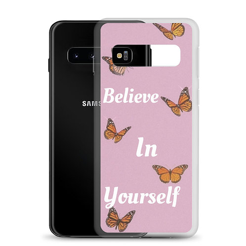 Believing Butterfly Samsung Case