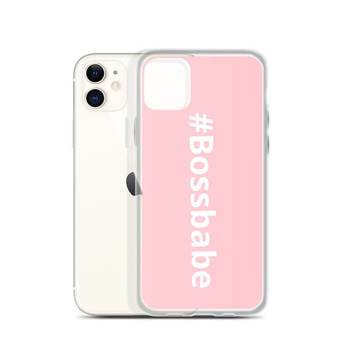 Boss Babe iPhone Case